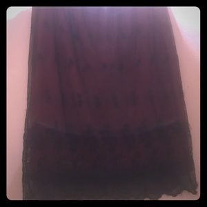 4 for $20.00 Women lace embroidered skirt petite
